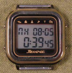 часы ЭЛЕКТРОНИКА ЧН-01 с АЦНХ 5 мелодий арт. 1126