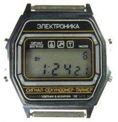 часы ЭЛЕКТРОНИКА ЧН-55 с ЦНХ 5 мелодий арт. 1169