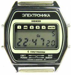 часы ЭЛЕКТРОНИКА ЧН-54 с ЦНХ 5 мелодий арт. 1171