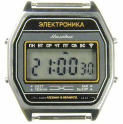 часы ЭЛЕКТРОНИКА 77А 7 мелодий арт. 1160