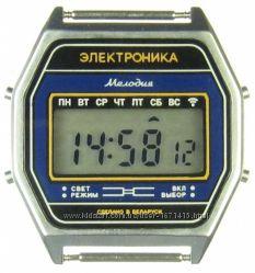 часы ЭЛЕКТРОНИКА 77А 7 мелодий арт. 1159