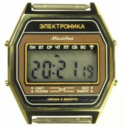 часы ЭЛЕКТРОНИКА 77А 7 мелодий арт. 1158