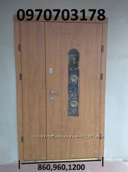 Дверь входная с ковкой