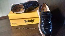 Туфли кожаные ортопедические для школы
