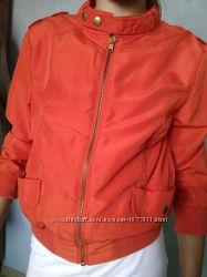 яркая курточка ветровка для девочки