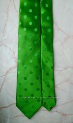 Новый шелковый галстук ручной работы TM Lewin