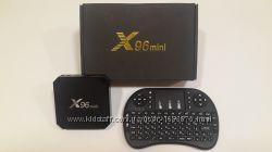 ТВ приставка X96 mini, X96W 216Gb Мега прошивка на 1200 каналов и видео