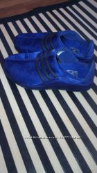 Новые женские фиолетовые кроссовки  ADIDAS, р3-4