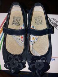 Продам замшевые туфельки 27-й размер, 17, 5 см.