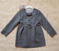 Шерстяное пальто демисезонное для девочки 128см 8лет MayoralИспания