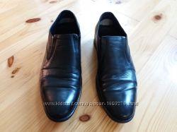 Туфли кожаные 40р, бу