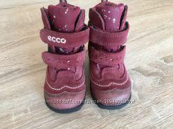 Зимние ботинки Ecco на девочку 21 размер