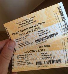 Билеты на концерт David Garret 4. 10. 18 СУПЕР НИЗКАЯ ЦЕНА
