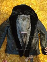 Зимняя курточка на цигейке