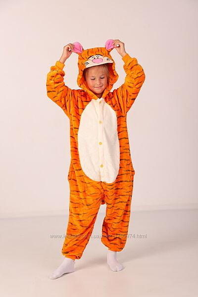 Пижама кигуруми тигр / Кигуруми тигр / кигуруми желтый тигр /
