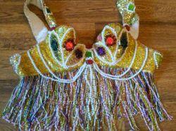Женский костюм для восточных танцев в стиле Шахерезады
