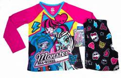 Флисовые пижамы Minions и Monster High, размер 6