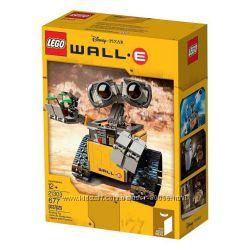 Lego Ideas 21301-Птицы, 21303-Wall-e в наличии