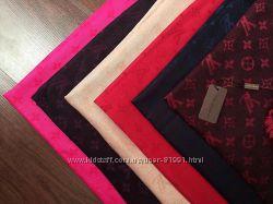 Палантины Louis Vuitton всевозможные цвета