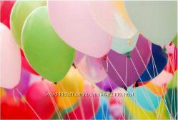 Гелиевые и просто шарики для наполнения праздника