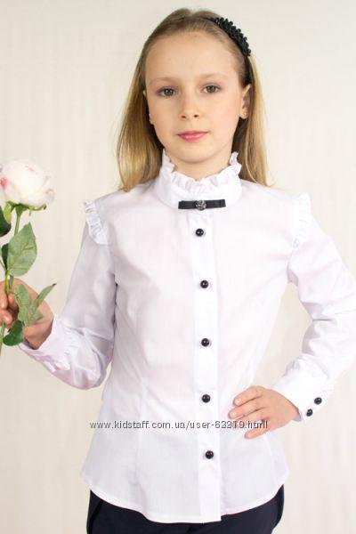 Школьные блузки большой выбор  122-152р.  выкуп под заказ
