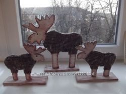 Эксклюзивный декор для дома олени, Лоси, ручная работа