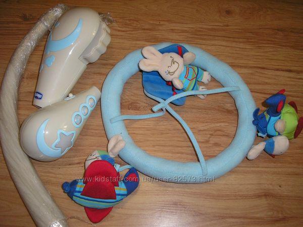 Игрушка на кроватку Храбрые пилоты chicco мобиль