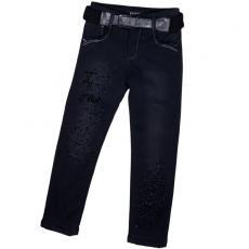 Утепленные флисом джинсы Yuke