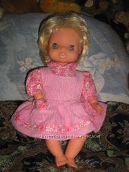 Мягконабивная немецкая кукла