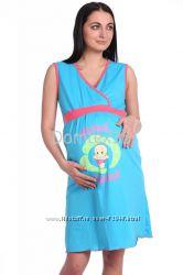 Сорочка ночная 52р беременной