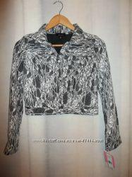 Новый легкий пиджак, Америка, р. 16 лет, маломерит - на 146-158см