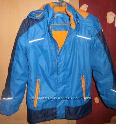Куртка-ветровка Alive на флисе 152