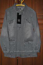Новая джинсовая рубашка-куртка