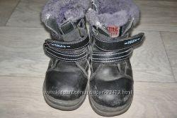 Ботинки зимние на мальчика бу