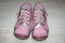 Ботинки кожаные на девочку бу