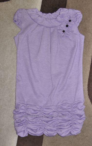 Платье на девочку бу р. 122-128