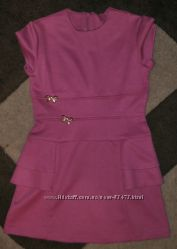 Стильное платье для девочки р. 116-122