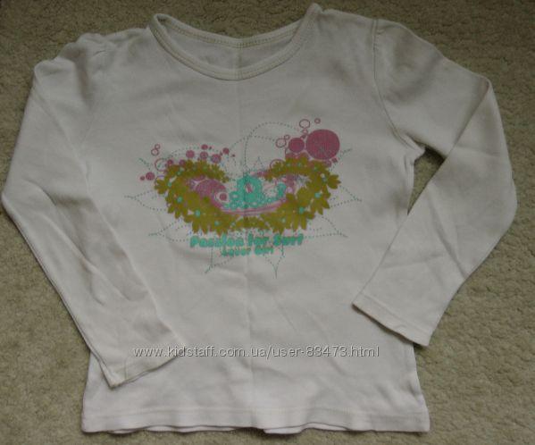 Регланы, гольф, футболка для девочки бу р. 110-116-122