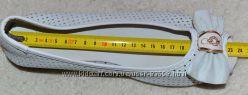 Летние туфли с открытвм пальчиком, 38 размер. Стелька 24 см