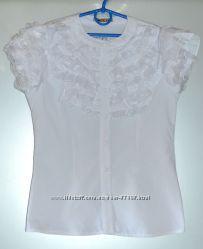 Новая нарядная блузка, рост 140-146