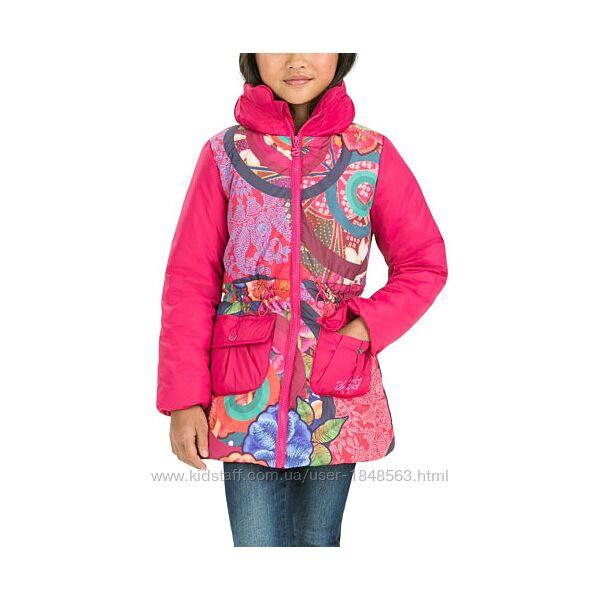 Куртка испанского бренда Desigual на 8-10 лет.