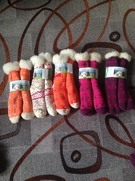 Теплі дитячі носочки від 0-8років