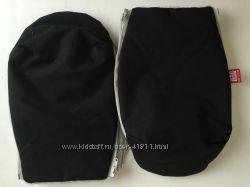 RED CASTLE рукавички-муфта для коляски Скандинавия BLACK