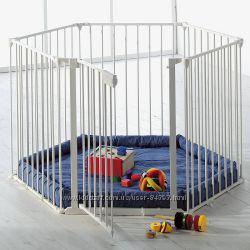 Манеж-ограждение с матрасом BabyDan Park A Kid Дания