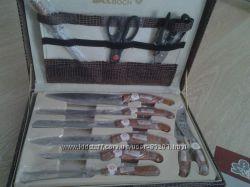 набор ножей и столовых приборов swiss & boch 24 предмета