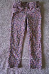 вельветовые джинсики Next, 4-5y