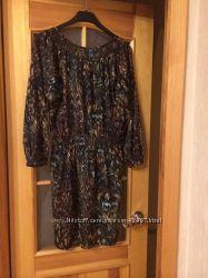 женственное платье   LAURA  ASHLEY 14 размер