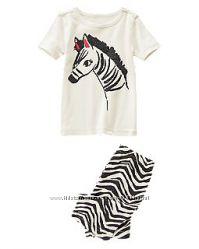 Пижама  для девочки Crazy 8 Америка на 2-3 года
