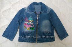 Джинсовая курточка-ветровка GLORIA JEANS на 1-2 года