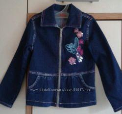 Летняя джинсовая ветровка для девочки Gloria Jeans